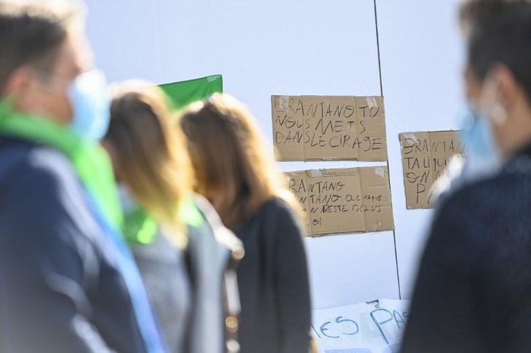 NAMUR BRANTANO PROTEST