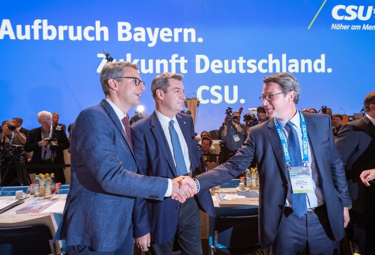 CSU party conference 2019